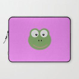 Frog head T-Shirt for Women, Men and Kids D6av3 Laptop Sleeve
