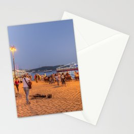 Istanbul At Night Stationery Cards