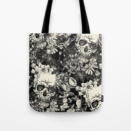 SKULLS HALLOWEEN SKULL Tote Bag