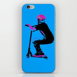 Scooter Cruiser - Scooter Boy iPhone Skin