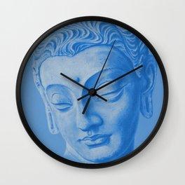 Siddharta Gautama blue Wall Clock