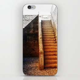 Rustic Fortress Stairway iPhone Skin