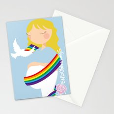 After lost, comes joy Stationery Cards