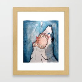 You're Going to Need a Bigger Boat Framed Art Print