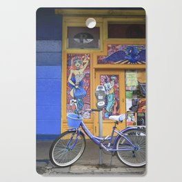 New Orleans Frenchman Bicycle Cutting Board