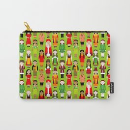 Children of the World - Green Carry-All Pouch