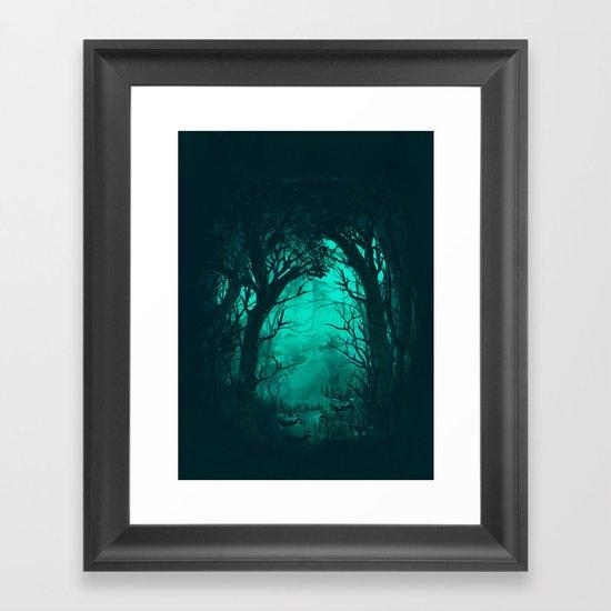 The Hiding Place Framed Art Print