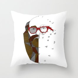 barbudo Throw Pillow