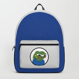 Apu Apustaja with banana phone The Helper Wall eyed pepe HD HIGH QUALITY Kekistan PepeTheFrog meme Backpack