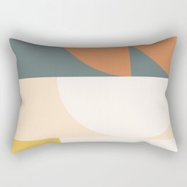 Abstract Geometric 02 Rectangular Pillow