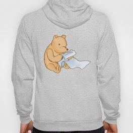 Pooh Reading Hoody