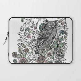 Spirit Animal: Owl. Laptop Sleeve