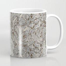 Silver Tropical Print Coffee Mug