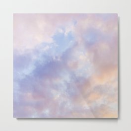 Pink sky / Photo of heavenly sky Metal Print