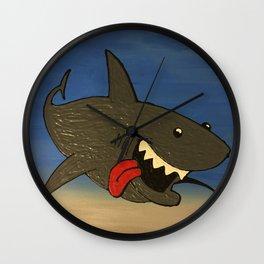 Shark Week Wall Clock
