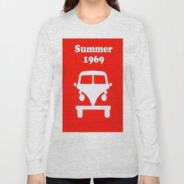 Summer 1969 - red Long Sleeve T-shirt