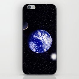 The blue Planet. iPhone Skin