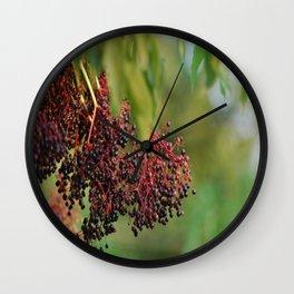 Elderberry Wall Clock
