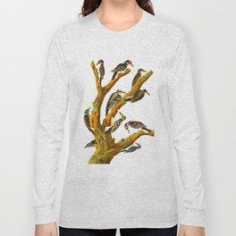 Maria's Woodpecker, Three-toed Woodpecker, Phillips' Woodpecker, Canadian Woodpecker, Harris's Woodp Long Sleeve T-shirt