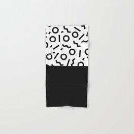 Memphis pattern 42 Hand & Bath Towel