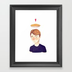 The Facts Were These Framed Art Print