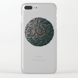 Augmented Furball Clear iPhone Case