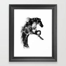 Festus Equus Framed Art Print