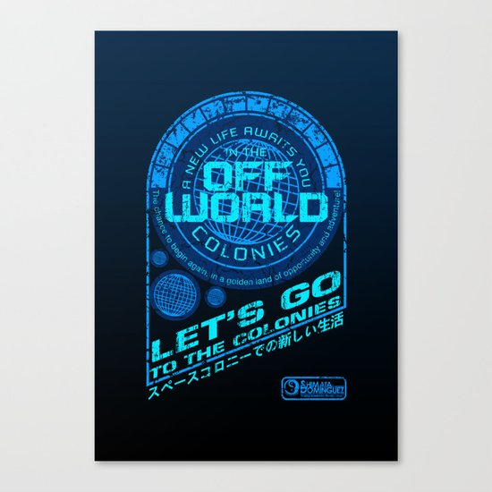 Off World Canvas Print