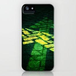 Yellow Arrows iPhone Case