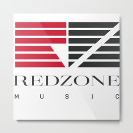 Redzone Music Metal Print