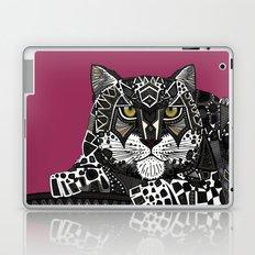 snow leopard pink Laptop & iPad Skin