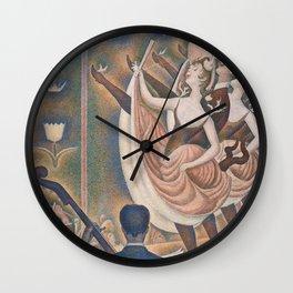 Le Chahut (High Resolution) Wall Clock