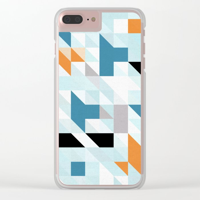 Aztec diversion Clear iPhone Case