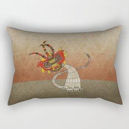 Masquerade in Africa II Rectangular Pillow