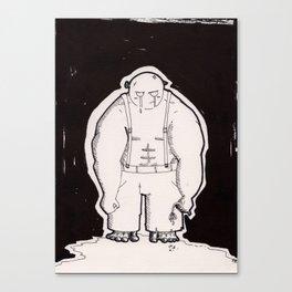 Giants Have Feelings, Too Canvas Print