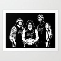 sith Art Prints featuring Miami Sith by Carlos Arteaga