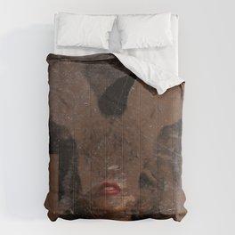 Polaroid Bunny  Comforters