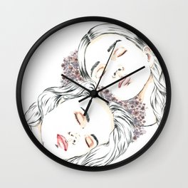 Vicinanza III Wall Clock