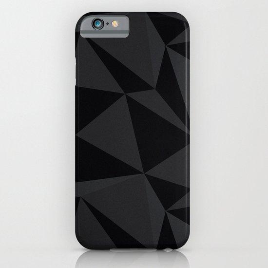 Triangular Black iPhone & iPod Case