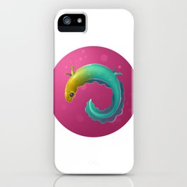 Multicolor Newt iPhone Case