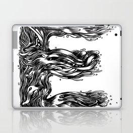 The Illustrated E Laptop & iPad Skin