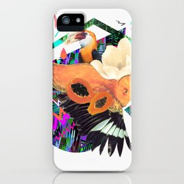 PAPAYA by Carboardcities and Kris tate iPhone Case