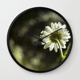 Daisy Light Wall Clock