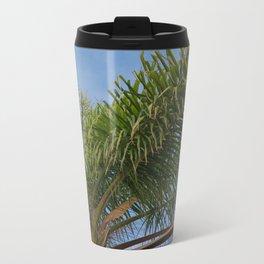 palm tree top Travel Mug
