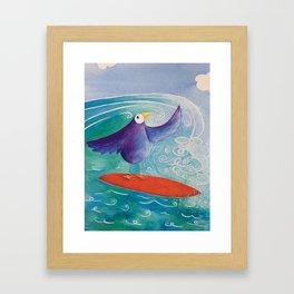 Surfs Up! Framed Art Print