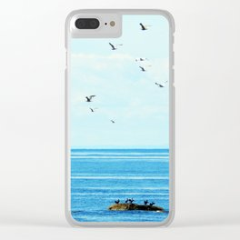 Birds of Summer Clear iPhone Case