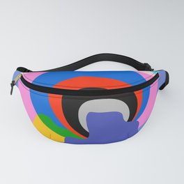 Mid Century Abstract 002 Fanny Pack