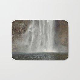 Water Falling // Taughannock Falls // Waterfalls Bath Mat