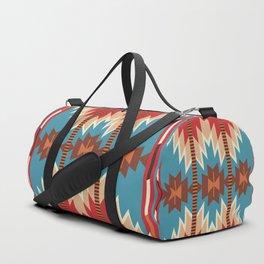 American Native Pattern No. 18 Duffle Bag