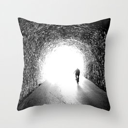 San Sebastian, Spain - Into the Light Throw Pillow